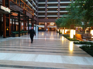 The Hilton Anatole has been a venue for the National Elementary Championship in the past.  It is certainly on the swanky side, a surprising venue that has been well-accepted by elementary players over the years.  There are numerous examples of artwork that grace the commons areas.