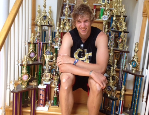 Zack and trophies (2)