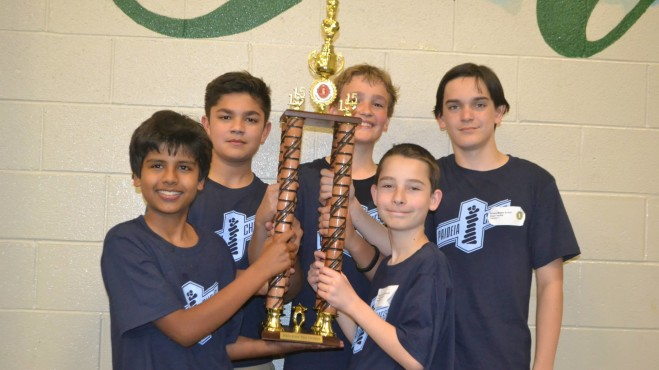 State Team Champions 2015 Paideia Middle School