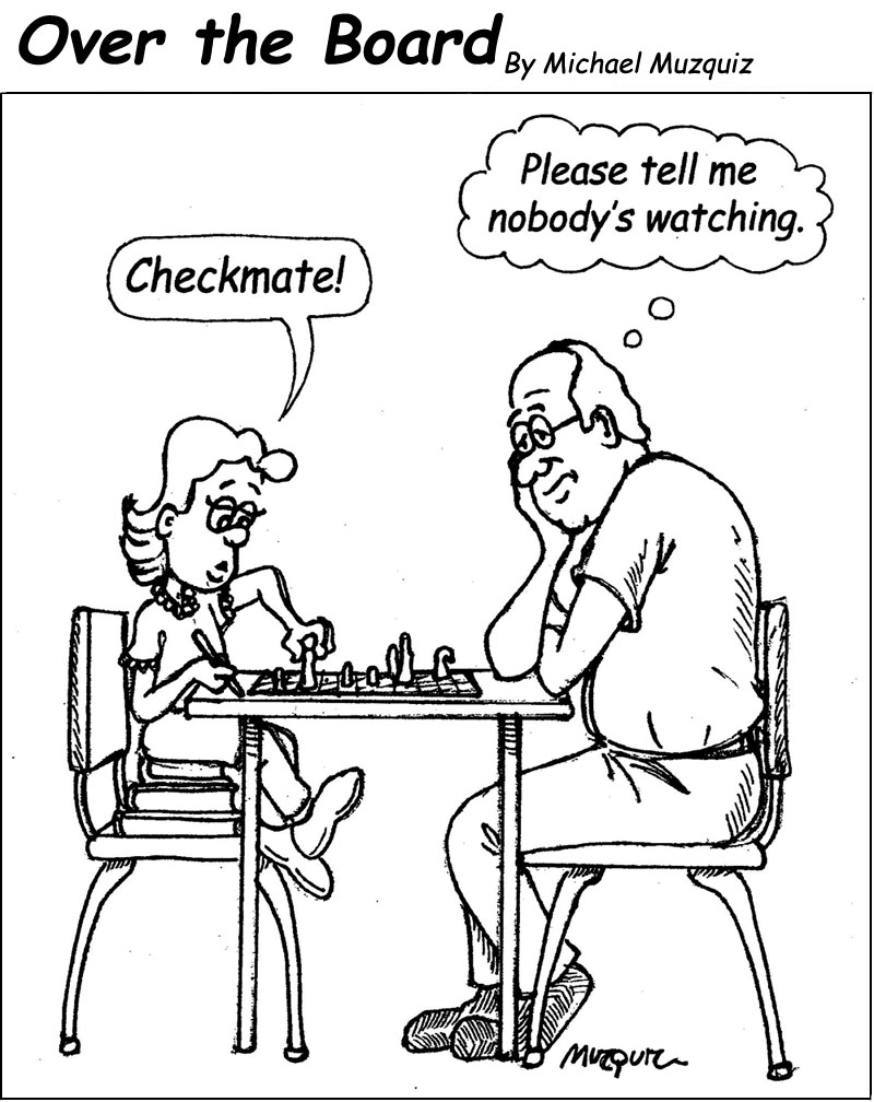 Over the Board: The Funny Side of Chess