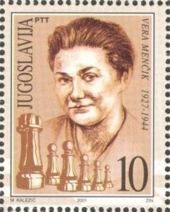 vera_menchik_2001_yugoslavia_stamp
