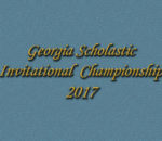 GA Scholastic Invitational 2017
