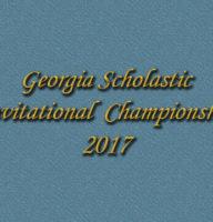 GA Scholastic Invitational 2017